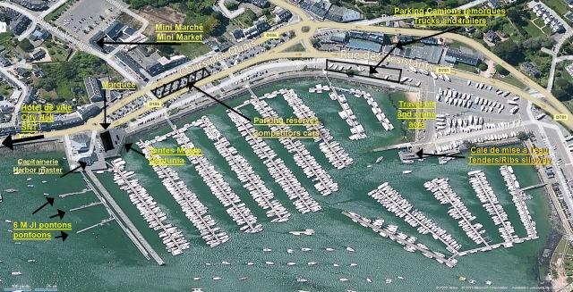 Plan du port.